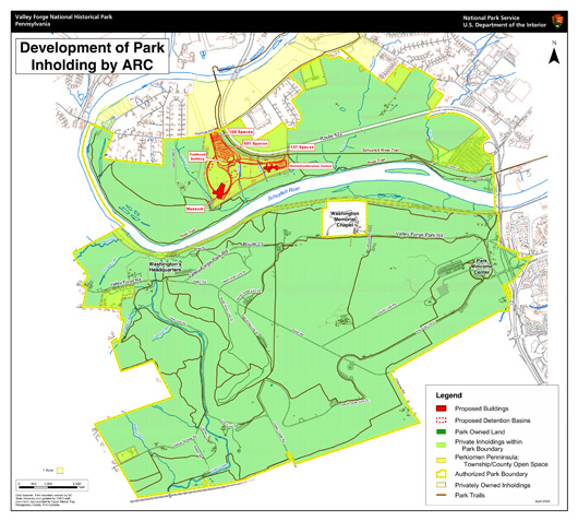 Our National Parks Development Near Park Brings Controversy - Map os us national historical parks