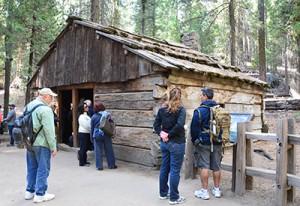 Gamlin Brothers cabin