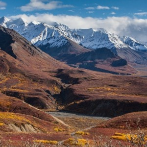 Denali mountains near Eilsen (NPS)